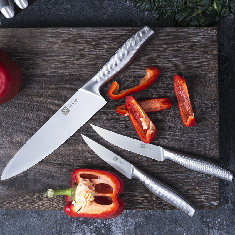 Chef S Knife Sets 15 Piece Stainless Steel Kitchen Knives